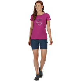 Regatta Highton Pantalones Cortos Mujer, dark denim